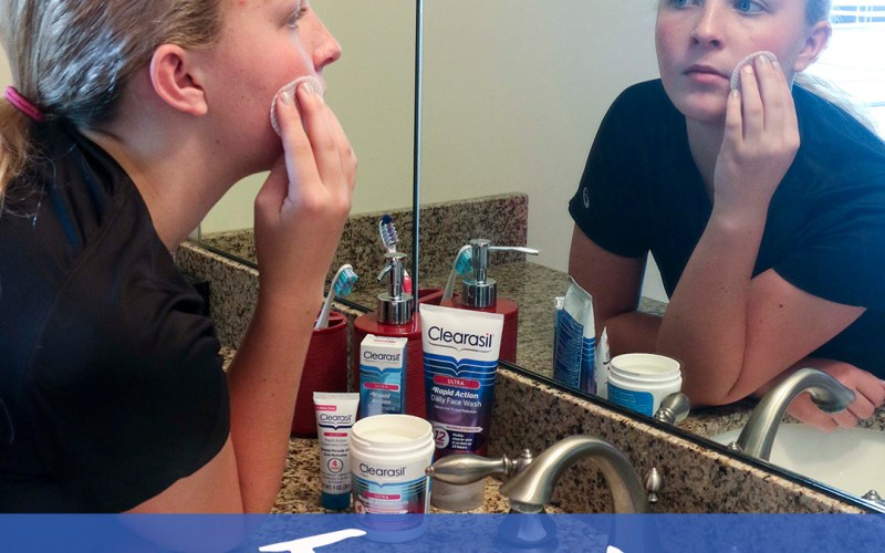 How to Tackle Teen Acne Before School Starts + Clearasil® Sweepstakes