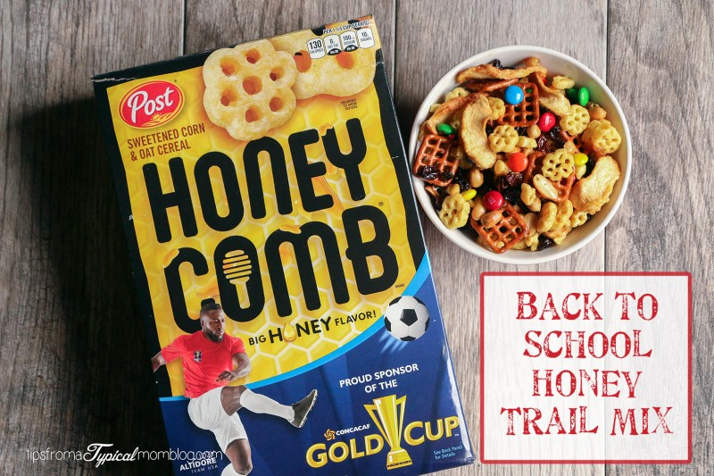 Back to School Honey Trail Mix