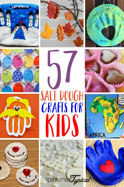 57 Salt Dough Crafts for Kids