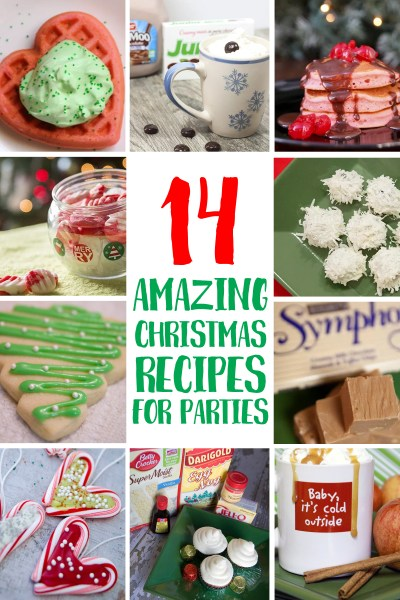 14 Christmas Recipes from the blog