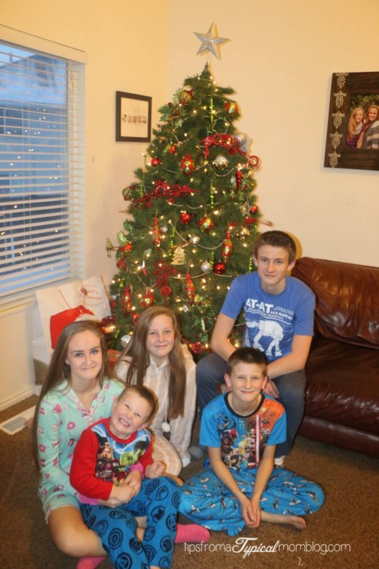 Why our kids don't buy gifts for each other for Christmas
