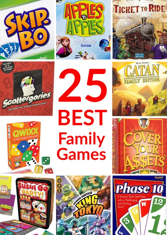 25 Best Family Games
