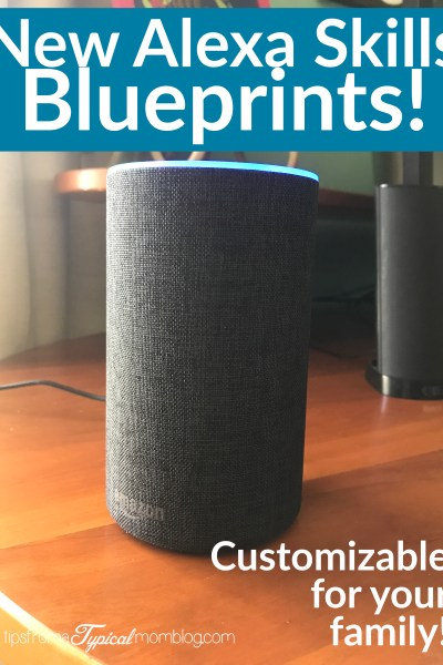 New Alexa Skills Blueprints customizable for your family