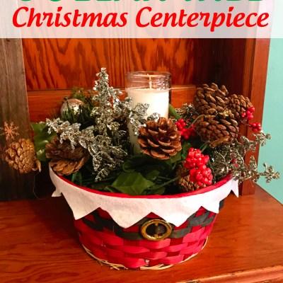Dollar Tree $8 Christmas Table Centerpiece Craft Tutorial + Other Dollar Tree Crafts