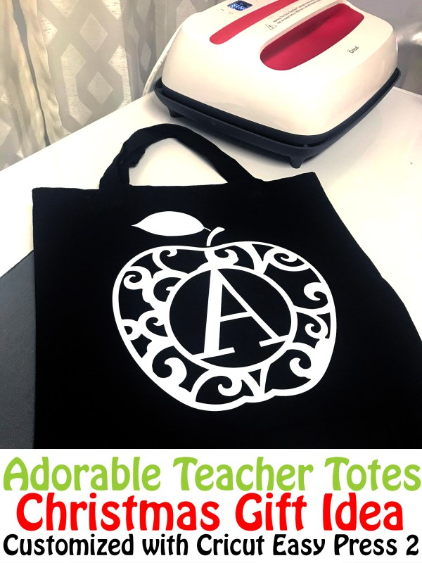 Adorable Teacher Totes Christmas Gift