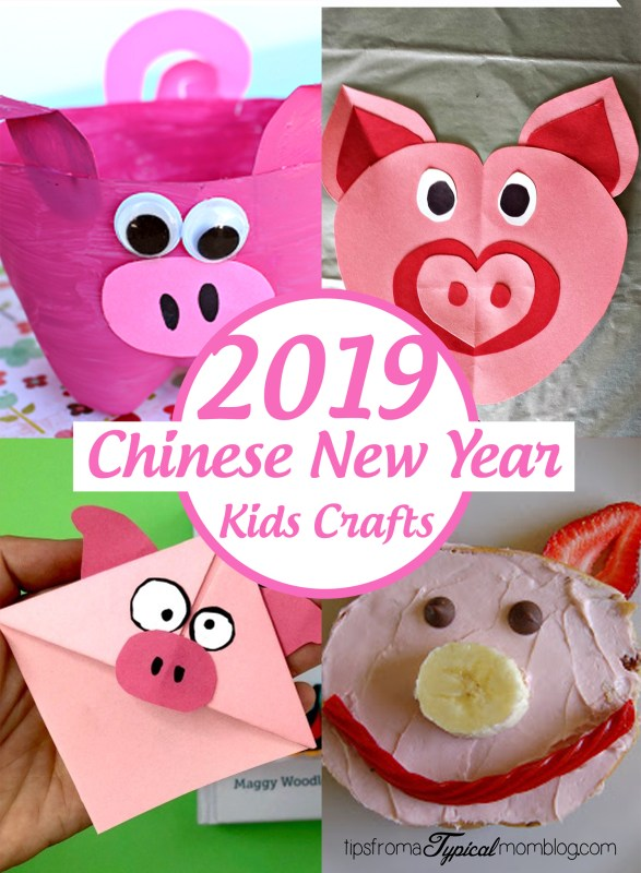 2019 Chinese New Year Kids Crafts and Activities