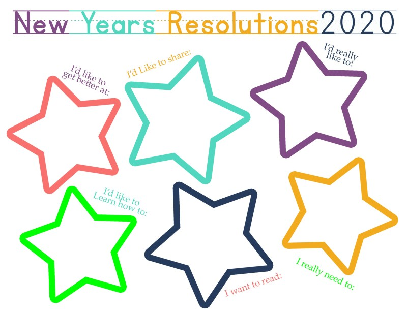 New Years Worksheets for Kids 2020