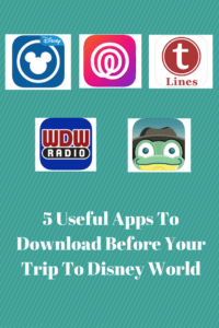 5 Useful Apps To Download Before Your Trip To Disney World