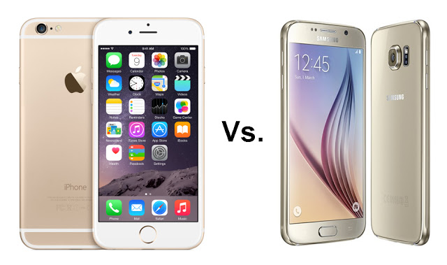 You are currently viewing How to choose between the iPhone 6 Plus and the Galaxy S6?