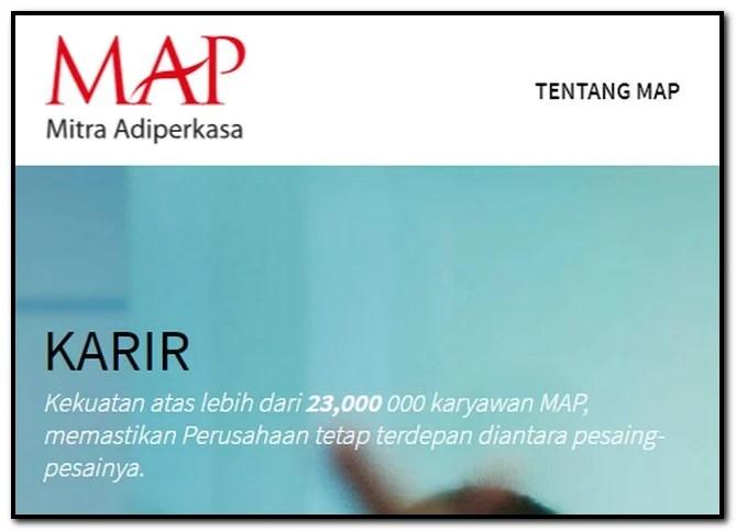 Management Trainee PT Mitra Adiperkasa (MAP)
