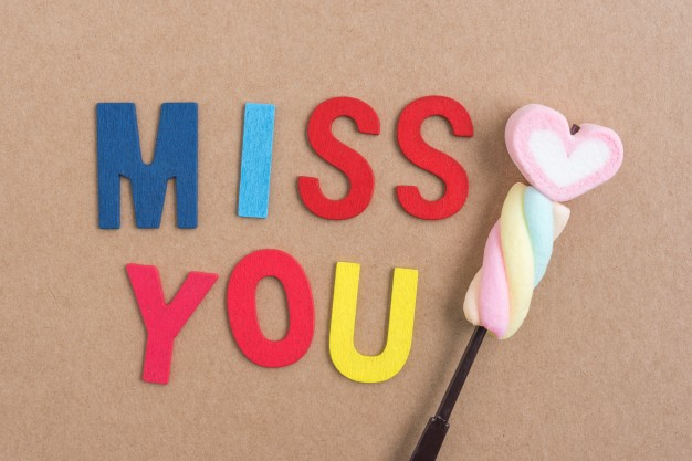 50 Different Ways to Say I Miss You