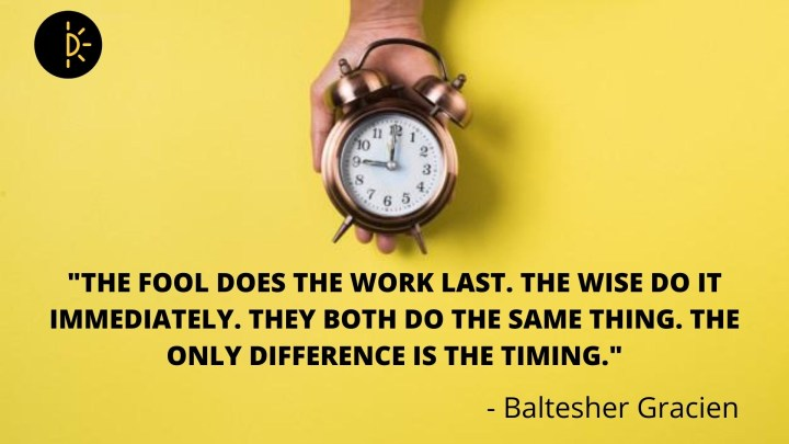 Are You Not Having Enough Time? Tips on Time Management