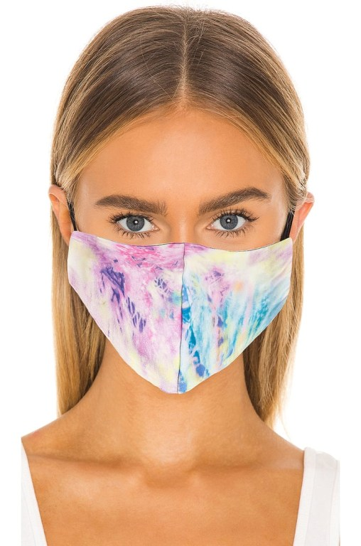 Styling and flaunting with your mask: