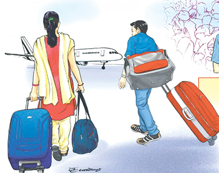 Emigration in Nepal: Why so many Nepalese go abroad