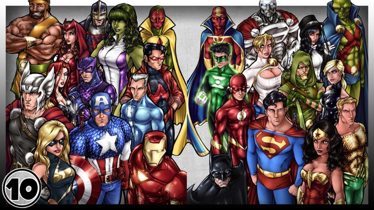 Top 10 famous Superheroes of all time