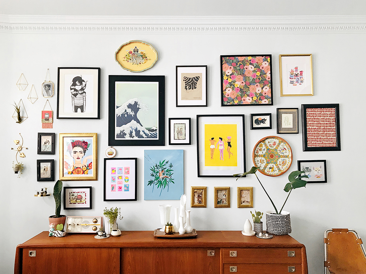 5 Best Steps of creating a gallery wall