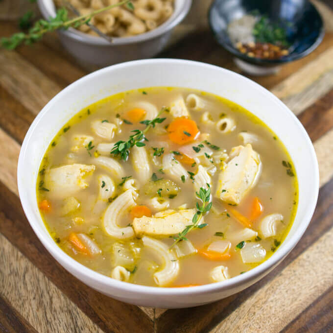 Chicken Soup: A Recipe for Healthy and Delicious Soup