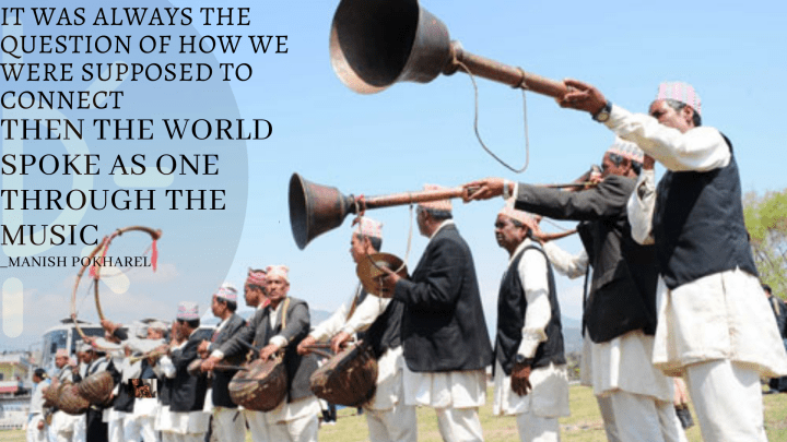 World Music Day Quotes with People playing classical Instruments