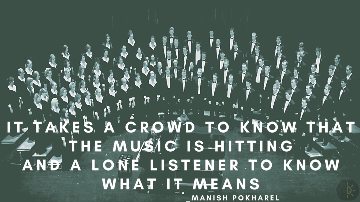 World Music Day Quotes about crowds and music