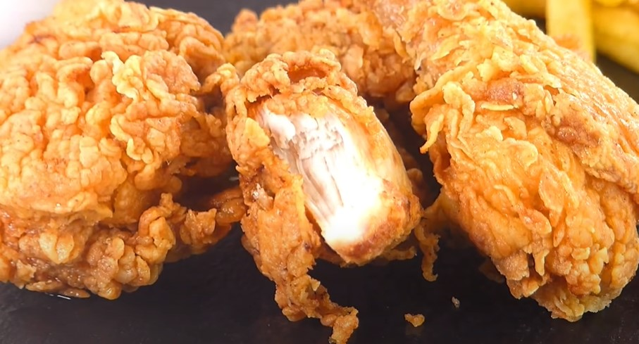 Delicious Deep-Fried Chicken: A 3 Step Recipe