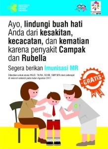 Manfaat imunisasi MR cegah Campak dan Rubella bagi anak-anak