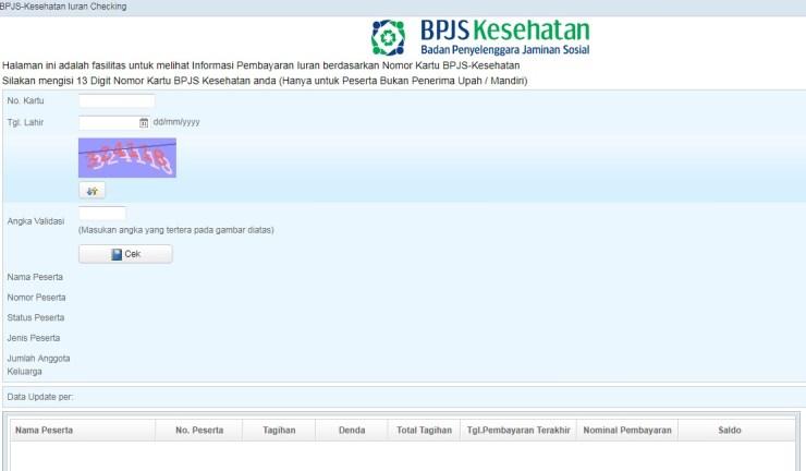 Cara Mengecek Tagihan BPJS Kesehatan dan Tempat Bayar BPJS