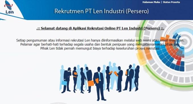 Penerimaan Pegawai Karyawan baru PT LEN (persero) tahun 2018 Lowongan Kerja LOKER PT LEN INDUSTRI 2018
