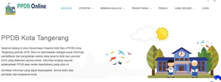 Pengumuman Hasil Seleksi PPDB SMP Online Kota Tangerang BANTEN 2018/2019, Hasil PPDB Online Jenjang SMP di Kota Tangerang.
