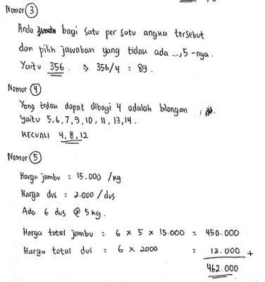 Contoh Psikotes Soal Matematika Dilengkapi Pembahasan Jawabannya