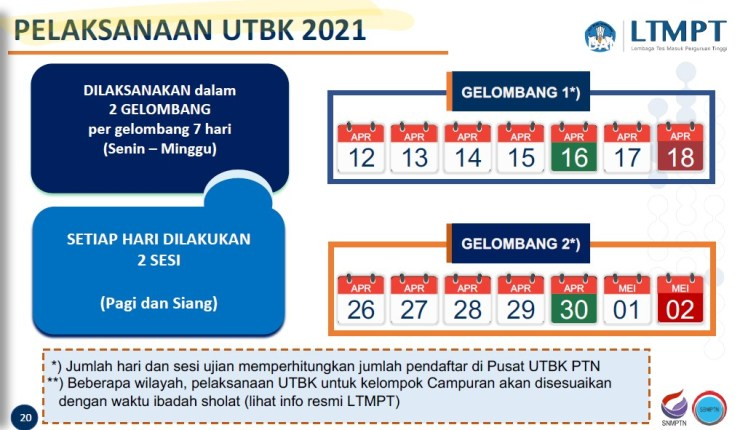 jadwal utbk 2021/2022  perkiraan jadwal utbk 2021  sistem utbk 2021  kapan utbk 2021 dilaksanakan  utbk 2021 bulan apa  utbk 2021 tanggal berapa  jadwal sbmptn 2021/2022  utbk 2021 hanya tps