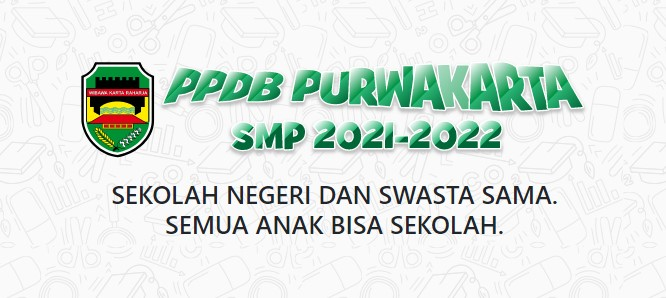 Pengumuman Hasil Seleksi PPDB SMP Negeri Kab Purwakarta 2021 2022