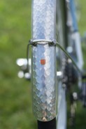 A relatively new addition for Velo Orange - the 50 mm Snakeskin fender. They look incredible in person.