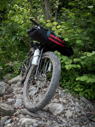 There is just something very aesthetically pleasing about a loaded bikepacking setup and 29+ Surly Knards!