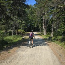 Checking out the NW reaches of the park's carriage road network