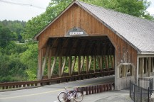 Quechee's covered bridge