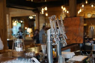 Glass tap handles