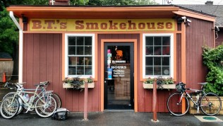 The good folks at Tree House directed us to B.T.'s Smokehouse