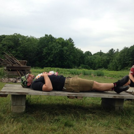 Pre-ride naps make you strong (Photo: Billy)