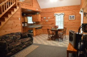 rustic townsend cabin near cades cove