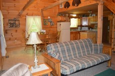 rustic 3 bedroom very secluded cabin