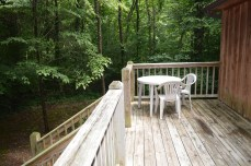 private townsend cabin with secuded deck
