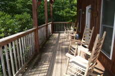 private, secluded townsend cabin rental