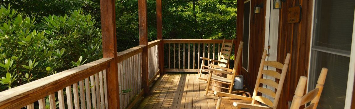 secluded townsend cabin rental