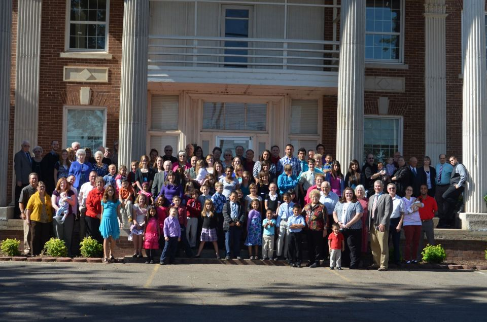 Tipton Childrens Home Alumni Group Photo