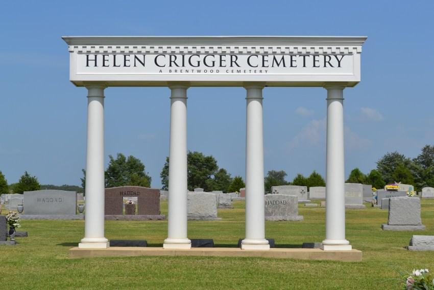 Helen Crigger Cemetery in Munford, TN