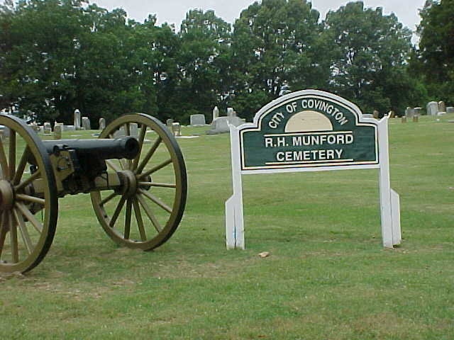 RH Munford Cemetery in Covington Tennessee