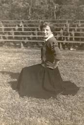 Margaret Nichols in High School at Munford