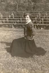 Margaret Nichols in High School at Munford