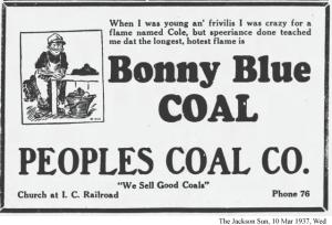 Bonny Blue Coal