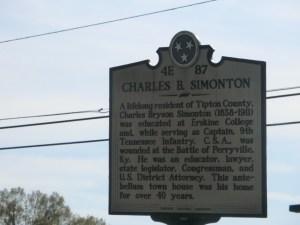 Charles B. Simonton Marker